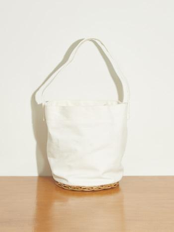 【Mi cesta】アルログキャンバス巾着トートバッグ