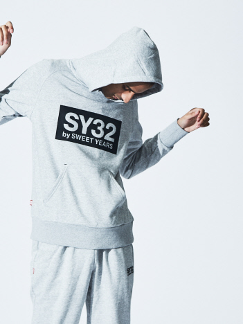 【SY32】REGULAR P/O HOODIE / TNS1704 / パーカー SY32 by SWEET YEARS