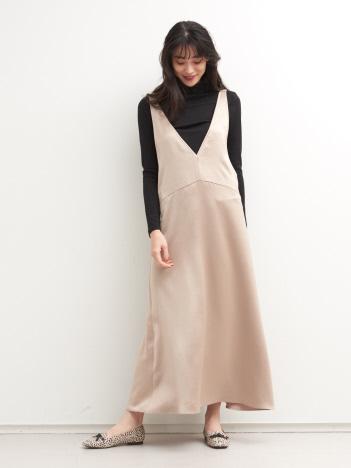 【Mylanka】ヴィンテージライクジャンパースカート