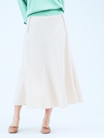 【Mylanka】セミフレアロングスカート