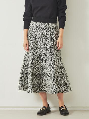 【BRAHMIN】ジャガードニットスカート