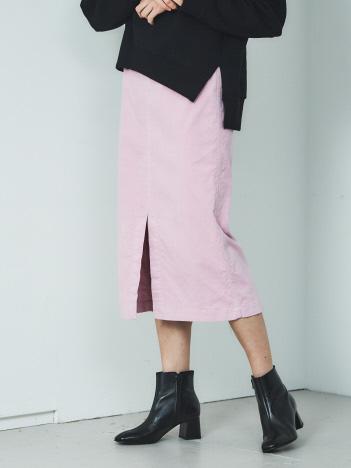【BRAHMIN】ストレッチ混コーデュロイタイトスカート