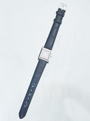 AT-SCELTA Select (Ladie's) - 【FLANEUR】正方形ウォッチ シルバー×ホワイト F404S1