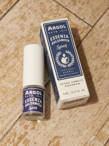 【ARGOL】エッセンザバルサミカ8ml スプレータイプ