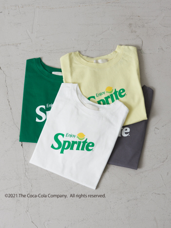 AT-SCELTA Select (Ladie's) - 【新色登場!】【Mylanka】Sprite Tシャツ