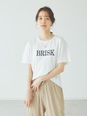 【Mylanka】《BRISK》ロゴTシャツ