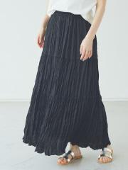 【Mylanka】楊柳ティアードスカート