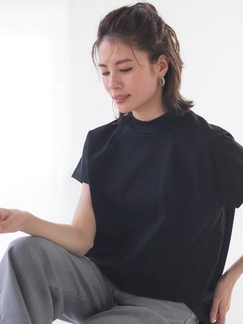 【BRAHMIN】高品質コットン使用/シンプル半袖カットソー