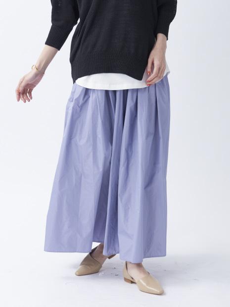【BRAHMIN】タフタフレアスカート