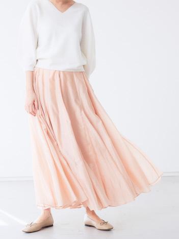 AT-SCELTA Select (Ladie's) - 【BRAHMIN】シアーローンマキシスカート