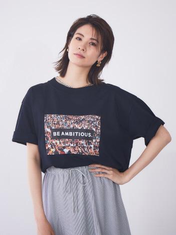 【JILKY】フォトプリントTシャツ