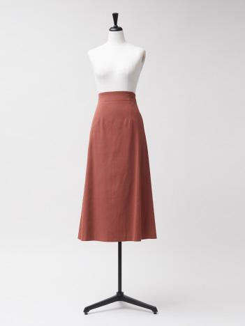 【USED/Rouge vif la cle】ラチネセミフレアスカート