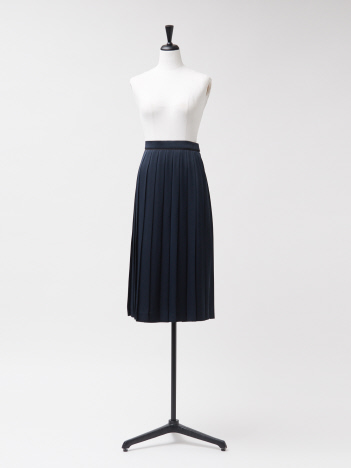 【USED/DESIGNWORKS】ヴィンテージサテンプリーツスカート