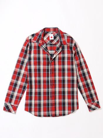 AT-SCELTA - 【MARKA×メンズジョーカー】ワイヤーチェックシャツ