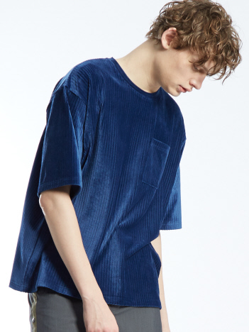 OUTLET (Ladie's) - カットコールルーズTシャツ