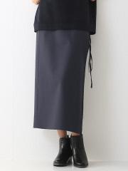 36 Quatre-Neuf - ウールタイプライタースカート