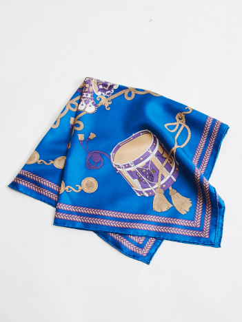manipuri 太鼓柄スカーフ