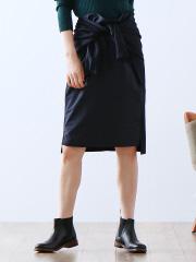 36 Quatre-Neuf - ウールフランネルスカート