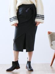 Abahouse Devinette - フェイクレザースカート
