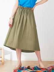 ストレッチ紐スカート