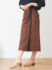 Abahouse Devinette - アシンメトリーラップスカート
