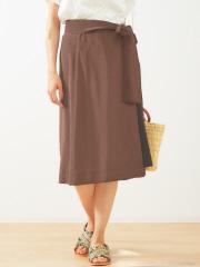 Abahouse Devinette - ウエストリボンラップスカート