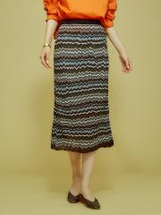 Abahouse Devinette - ジグザグボーダースカート