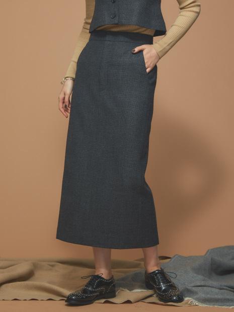 チェックボックススカート