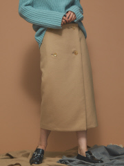 Abahouse Devinette - ストレートラップスカート