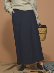 Abahouse Devinette - フロントプリーツスカート