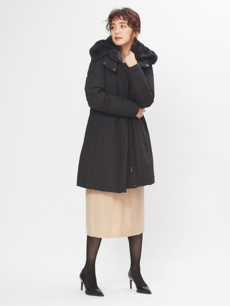 WOOLRICH BOW BRIDGE COAT