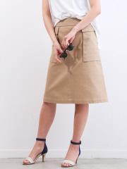 Rouge vif la cle - ポケット付きスカート