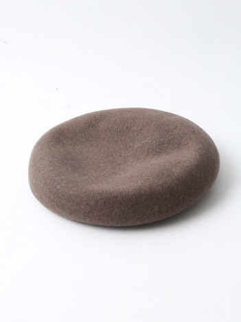 Rouge vif la cle - ウールベレー帽
