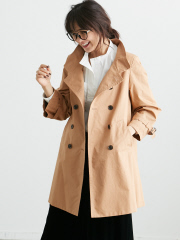 Rouge vif la cle - スタンドカラーコート