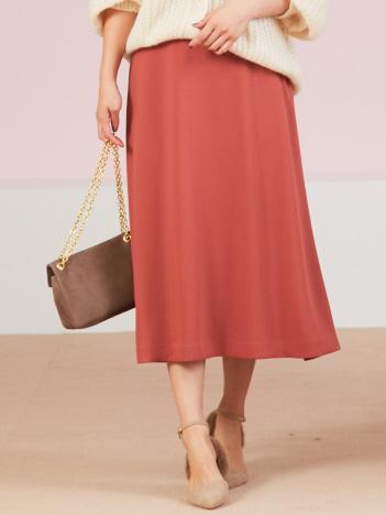 OUTLET (Ladie's) - カラーフレアースカート