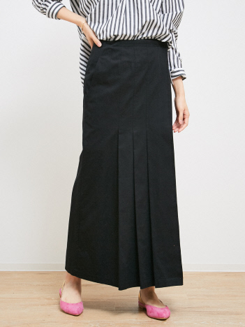 Rouge vif la cle - タックロングスカート