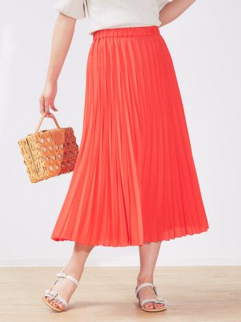 OUTLET (Ladie's) - 変形プリーツスカート