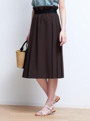 Rouge vif la cle - ラップ風プリーツスカート