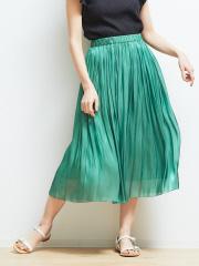Rouge vif la cle - サテンギャザースカート2