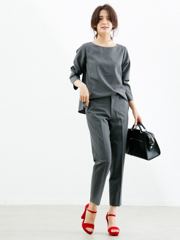 Rouge vif la cle - MICA&DEAL バックタックセットアップ