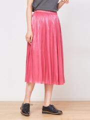 Rouge vif la cle - サテンギャザースカート