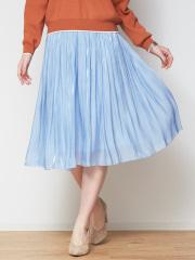 Rouge vif la cle - 【定番新色】サテンギャザースカート2