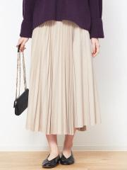 Rouge vif la cle - ミックスプリーツスカート