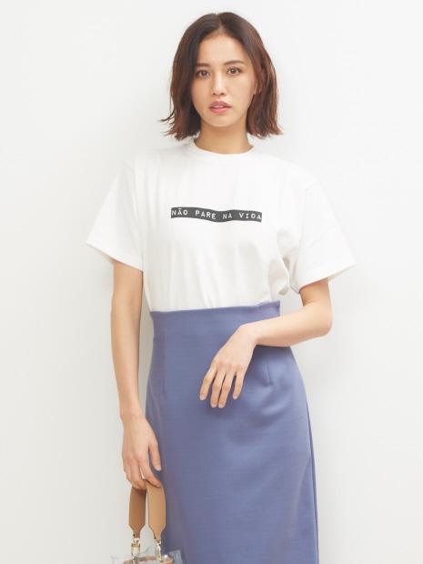 Lachement コーマ度詰天竺Tシャツ
