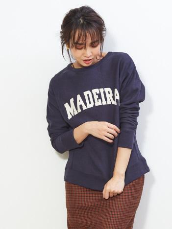 【MICA&DEAL】MEDEIRAスウェットプルオーバー