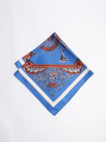 manipuri crest  シルクスカーフ