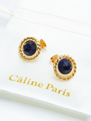 Caline Paris bouton ピアス