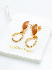 Rouge vif la cle - Caline Paris variety pierce2