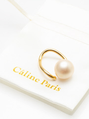 Caline Paris perl Ring