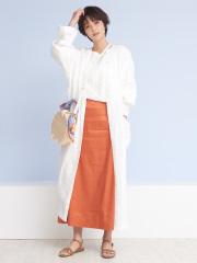 Rouge vif la cle - リネンコートドレス【予約】